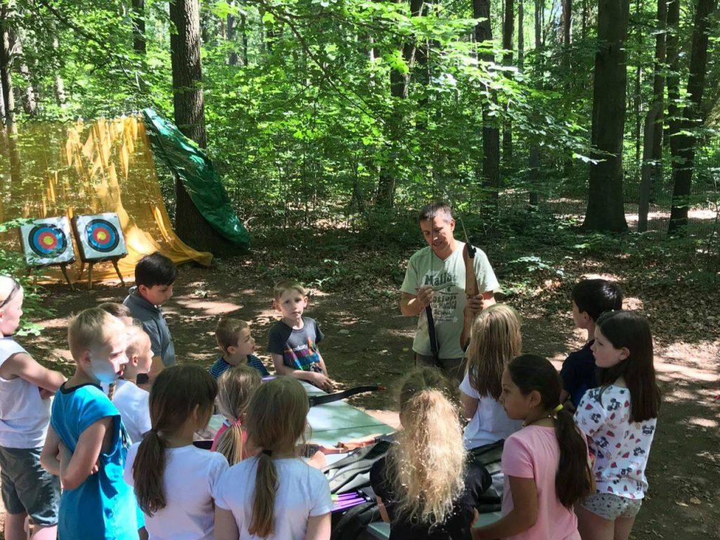 Bogenschießen mit Kindern bei Chemnitz