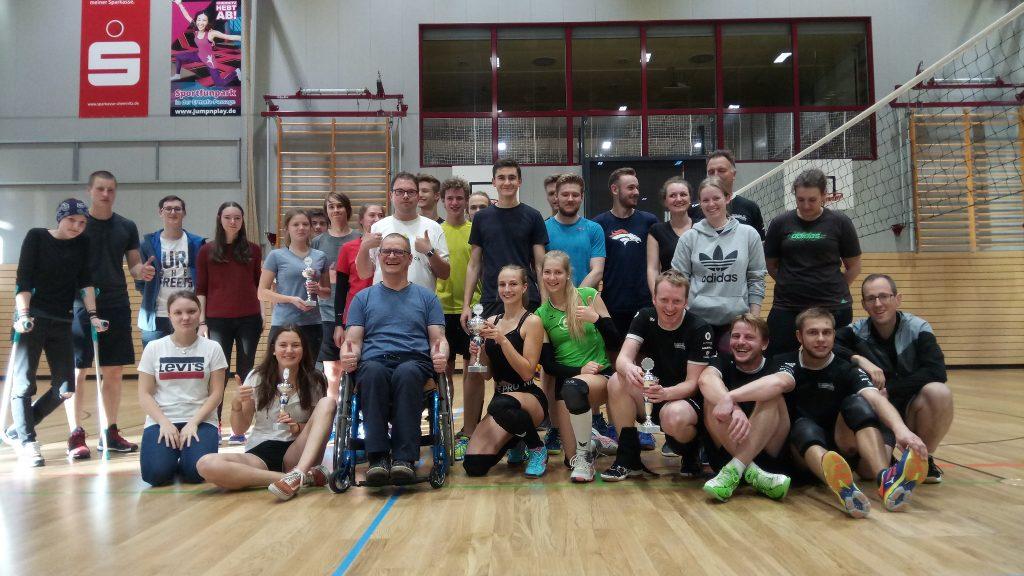 Mannschaften beim MSG Volleyballcup 2019